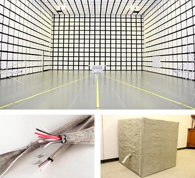 電磁波シールドボックス・電磁波シールドチューブ・拡張シールドウォール