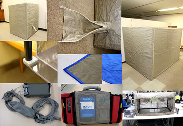電磁波シールド材イキソルメッシュ カスタム加工